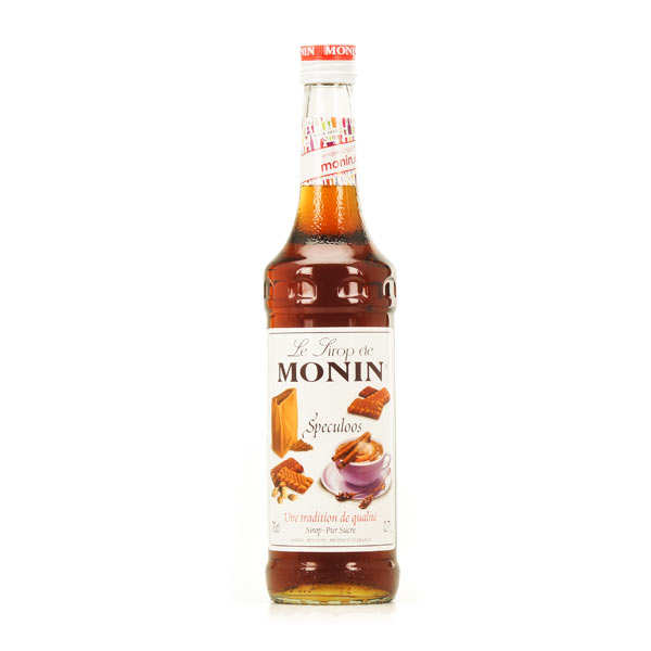 Speculoos biscuit syrup Monin