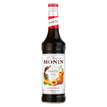 Monin - Peach tea syrup concentrate Monin