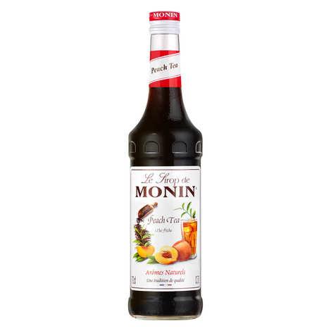Monin - Peach tea syrup concentrate Monin
