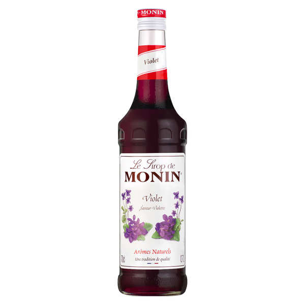 Violet syrup Monin