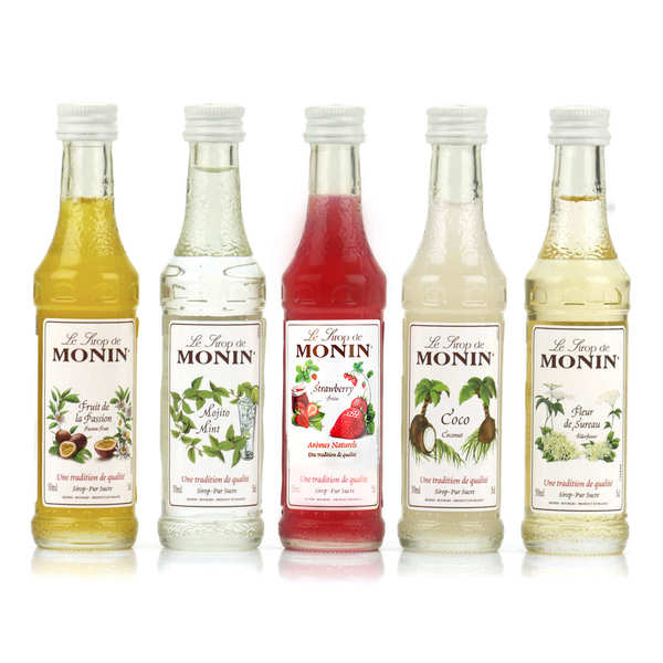 Cocktails set - 5 syrup - Monin