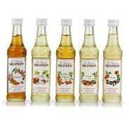 Monin - Set of 5 Coffee Syrups by Monin