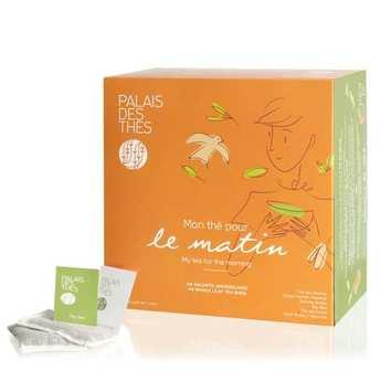 Palais des Thés - Coffret - Mon thé pour le matin - 48 mousselines