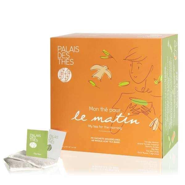 Coffret - Mon thé pour le matin - 48 mousselines