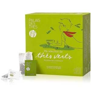 Palais des Thés - Coffret - Ma sélection de thés verts - 48 mousselines