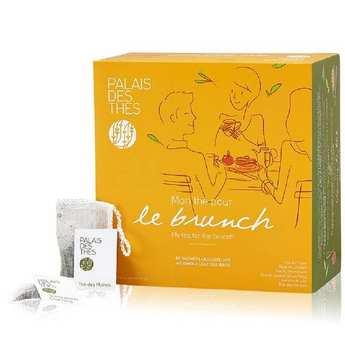 Palais des Thés - Coffret - Mon thé pour le brunch - 48 mousselines