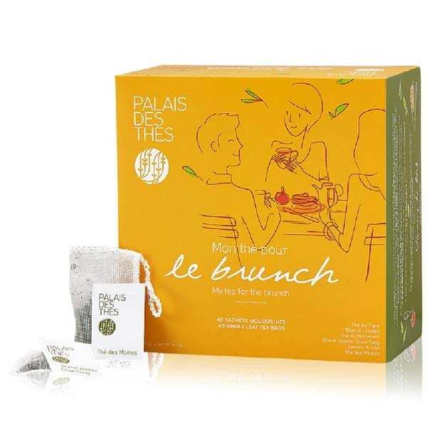 Coffret - Mon thé pour le brunch - 48 mousselines