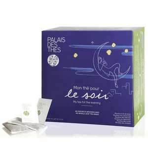 Palais des Thés - Coffret - Mon thé pour le soir - 48 mousselines Rooibos