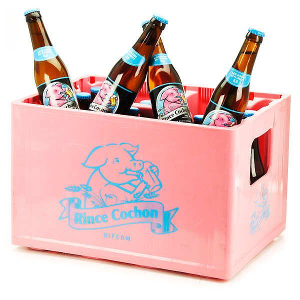 Bière Rince Cochon - La caisse de 24 bières