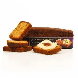 France Cake Tradition - Toast pain d'épices à la figue - spécial foie gras