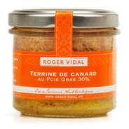Roger Vidal - Terrine de canard au foie gras 30%