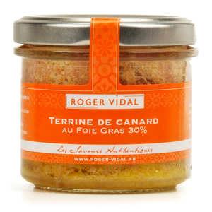 Roger Vidal - Duck Pâté with 30% Foie Gras