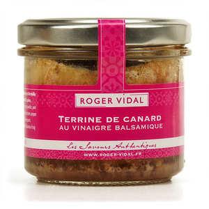 Roger Vidal - Duck Terrine with Balsamic Vinegar