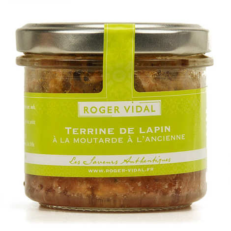 Roger Vidal - Rabbit Terrine with Traditional Mustard