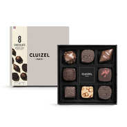 Michel Cluizel - Box of 8 Dark & Milk Chocolates by Michel Cluizel
