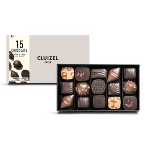Michel Cluizel - Box of 15 Dark & Milk Chocolates by Michel Cluizel