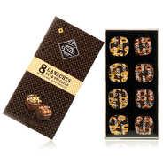 Michel Cluizel - Box of 8 Dark Chocolate Ganaches by Michel Cluizel - 85g.