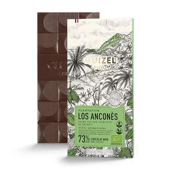 Michel Cluizel - Tablette de chocolat noir de plantation - Los Anconès 67% bio