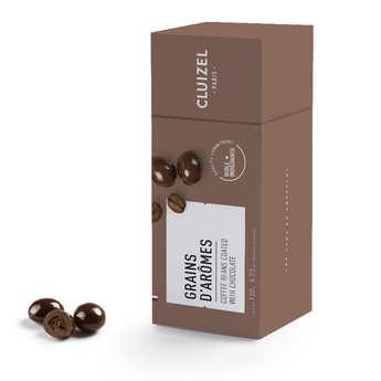 Michel Cluizel - Grains de café enrobés de chocolat noir Michel Cluizel