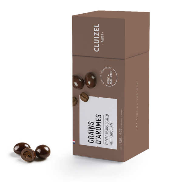 Coffee Beans in Dark Chocolate by Michel Cluizel