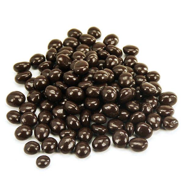 Grains de café enrobés de chocolat noir Michel Cluizel