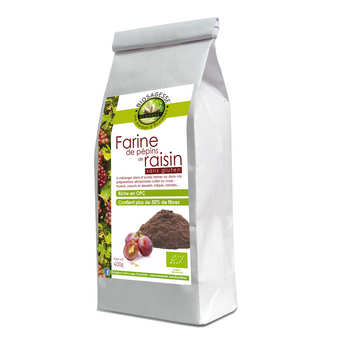 Biosagesse - Farine de pépins de raisin bio sans gluten