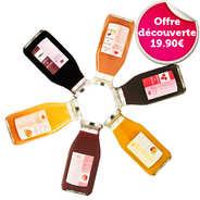 Emmanuelle Baillard - Set of 6 Pure Fruit Juices in bottle by Emmanuelle Baillard