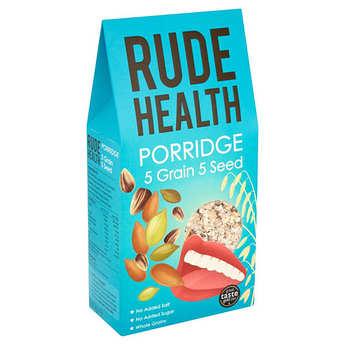 Rude health - Porridge anglais 5 céréales et 5 graines bio
