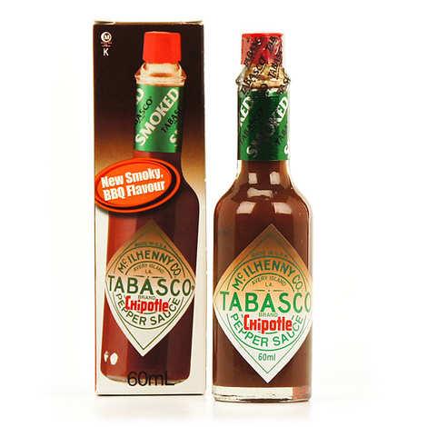 Mc Ilhenny - Tabasco brand - Tabasco chipotle - hot sauce