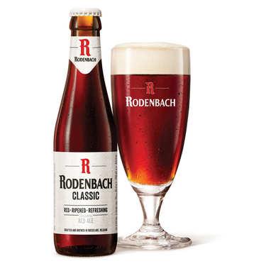 Bière Rodenbach Classic 5.2% brune-rouge de Belgique