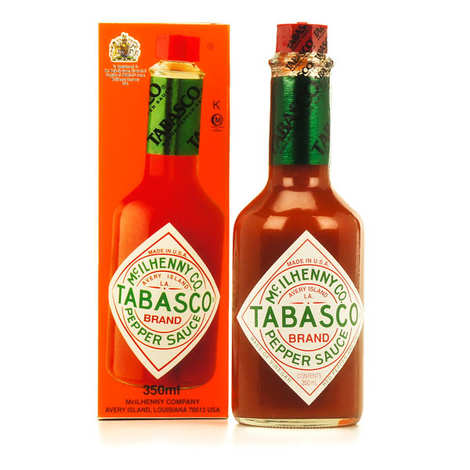 Mc Ilhenny - Tabasco brand - Tabasco rouge original - grande bouteille