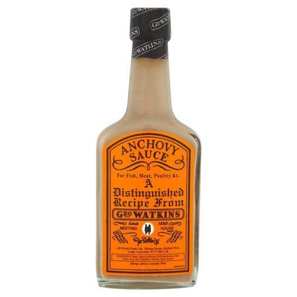 Anchovy sauce - Geo Watkins