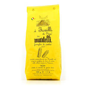 Pâtes Martelli - Martelli Fusilli