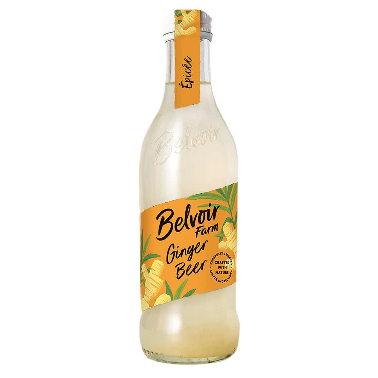 Ginger Beer - Belvoir pressé - Soda au gingembre