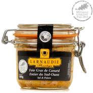 Jean Larnaudie - Foie gras de canard entier sel & poivre du Sud-Ouest (IGP)