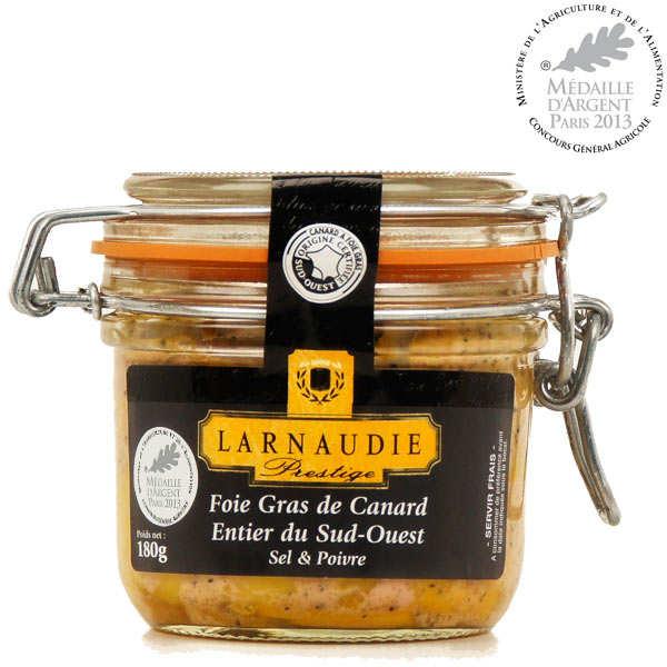 Foie gras de canard entier sel & poivre du Sud-Ouest (IGP)