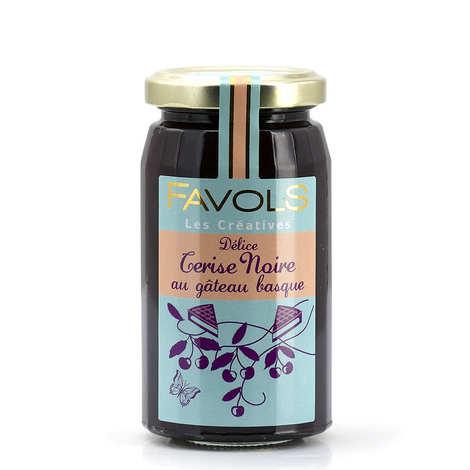 """Favols - """"Gâteau Basque"""" and Black Cherry Jam"""
