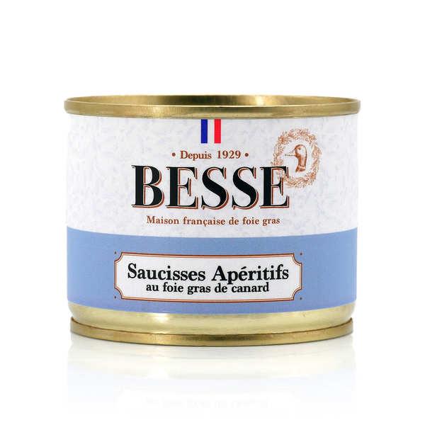 Saucisses apéritif au foie gras