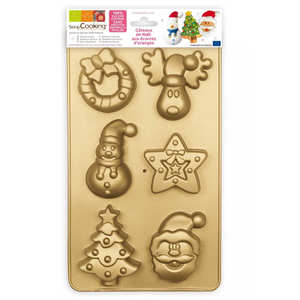 ScrapCooking ® - Silicone Christmas Mould