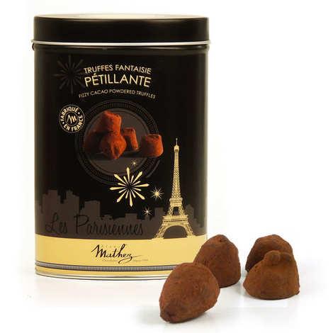 Chocolat Mathez - Les parisiennes - truffes fantaisies pétillantes