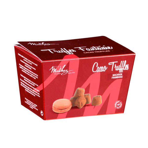 Box of Raspberry Macaroon Fantaisie Truffles