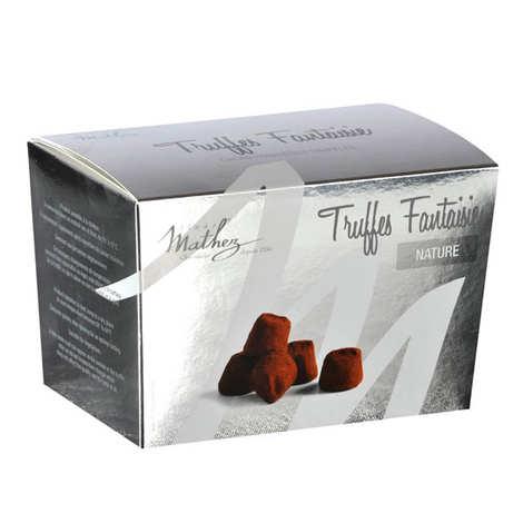 Chocolat Mathez - Truffes fantaisie nature en ballotin 250g