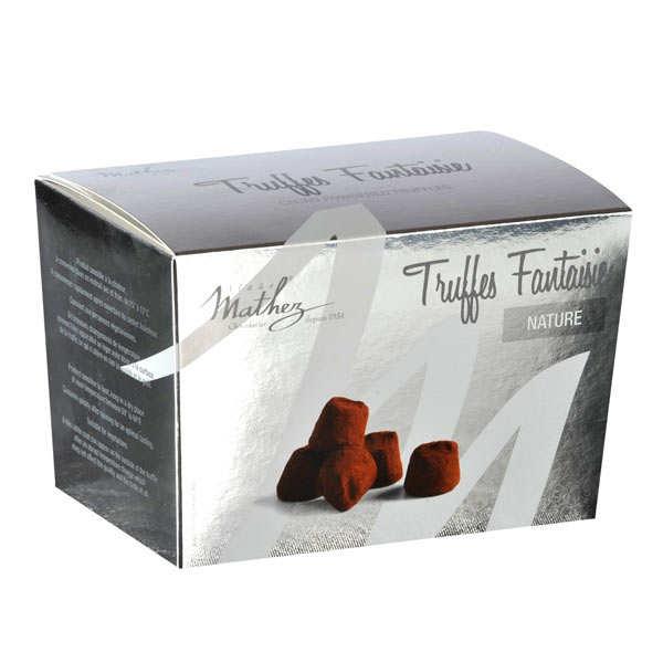 Plain Chocolate Truffles