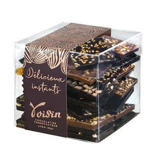 Voisin chocolatier torréfacteur - 'Croque-Télé Cube' Selection by Chocolats Voisins