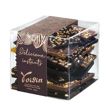 'Croque-Télé Cube' Selection by Chocolats Voisins