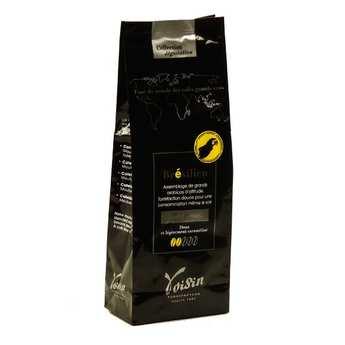Voisin chocolatier torréfacteur - 100% Arabica Ground Brazilian-style Coffee - Strength 2/5