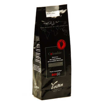 Voisin chocolatier torréfacteur - 100% Arabica Ground Colombian Coffee - Strength 3/5