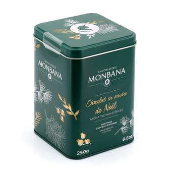 Monbana Chocolatier - Chocolat en poudre aux épices de Noël