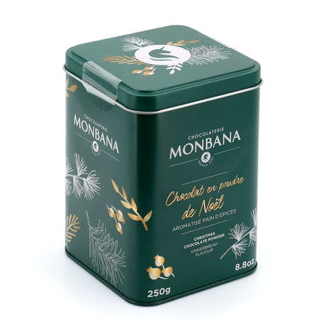 Monbana Chocolatier - Christmas Chocolate powder