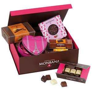 Monbana Chocolatier - Le coffret prestige de chocolat